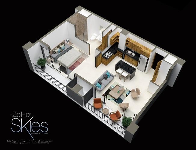 Dimensiones del Penthouse